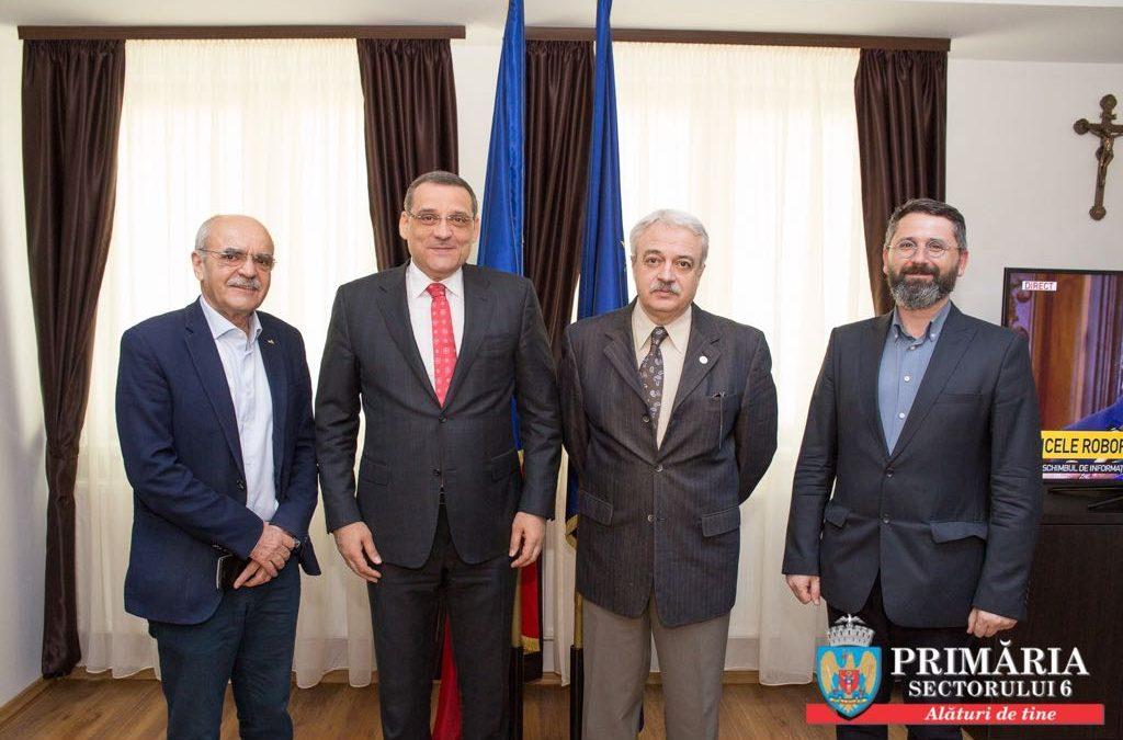 """Primăria Sectorului 6 a semnat un acord de parteneriat cu Universitatea de Urbanism și Arhitectură """"Ion Mincu"""" și cu Anuala de Arhitectură București 2018"""