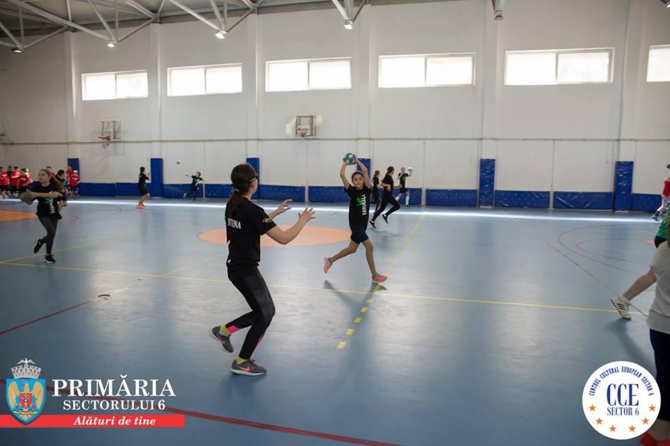 """""""Handbal în Sectorul 6 – Salt spre performanță"""", un proiect sportiv de clasă"""