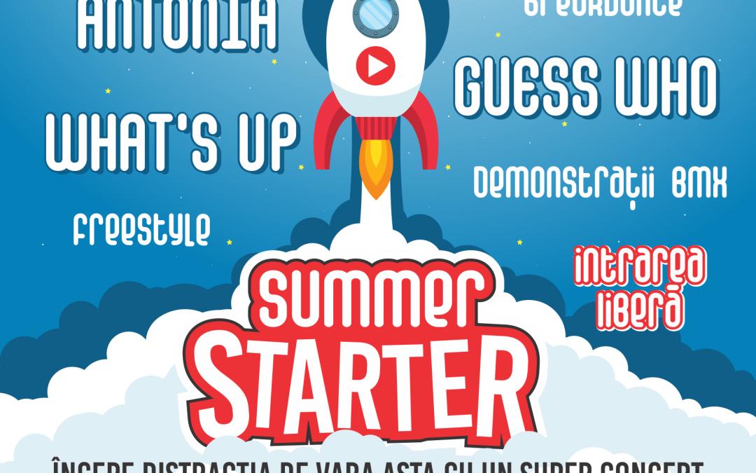"""""""Summer starter"""", eveniment grandios de 1 iunie"""