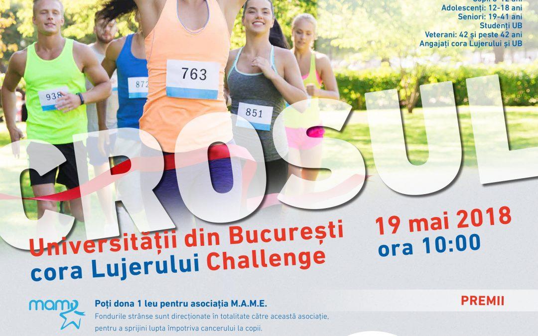 Crosul Universităţii din Bucureşti – Cora Lujerului Challenge 2018