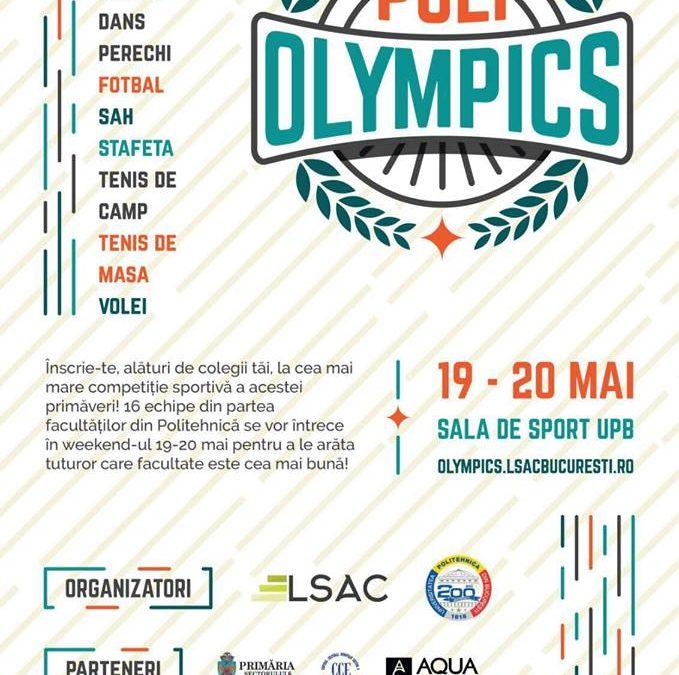 Poli Olympics, un eveniment dedicat sportului