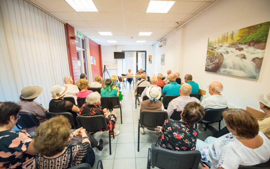 """""""Viață lungă și sănătoasă pentru persoanele vârstnice din Sectorul 6"""""""