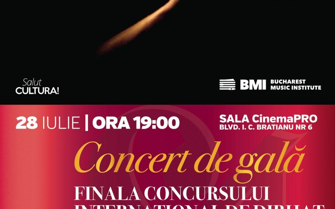 Concert de gală – Finala Concursului Internațional de Dirijat Orchestră Simfonică