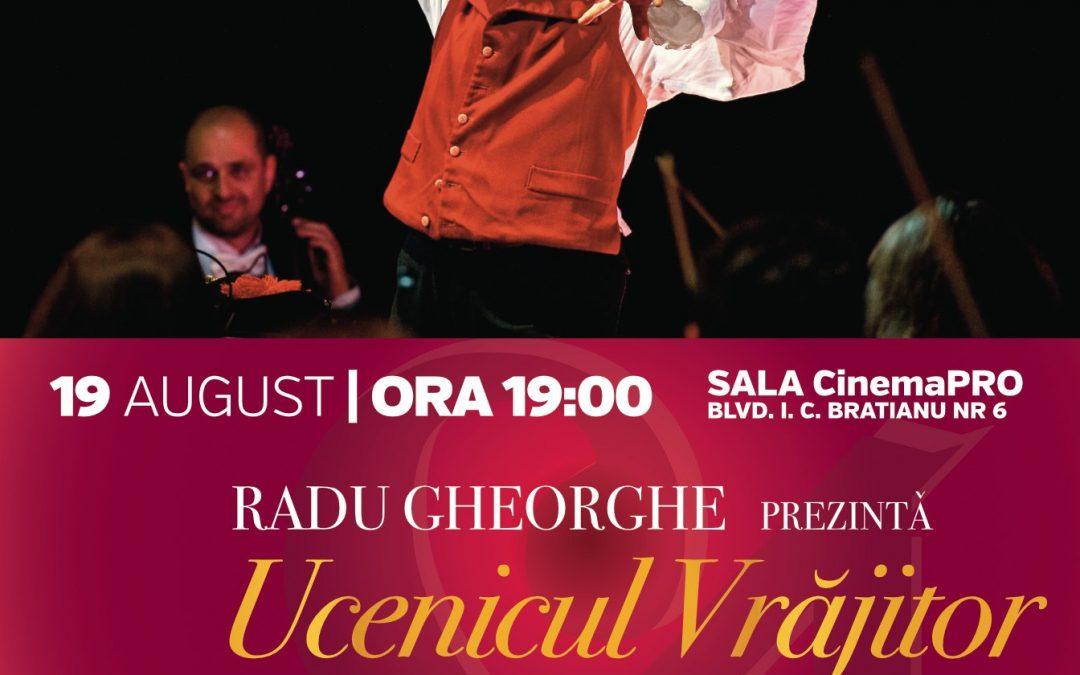 """Orchestra Simfonică București continuă stagiunea SalutCULTURA!  cu un nou concert – """"Ucenicul Vrăjitor"""""""