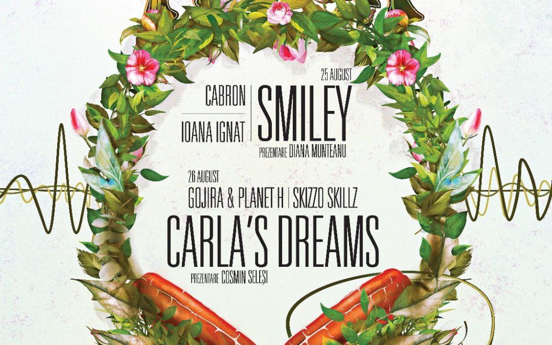 """""""Music în the Park"""": Smiley și Carla's Dreams concertează în Crângași"""
