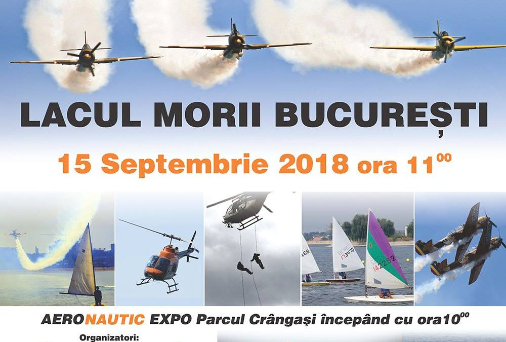 AERONAUTIC Show 2018, cel mai așteptat festival de acrobații aeriene și nautice