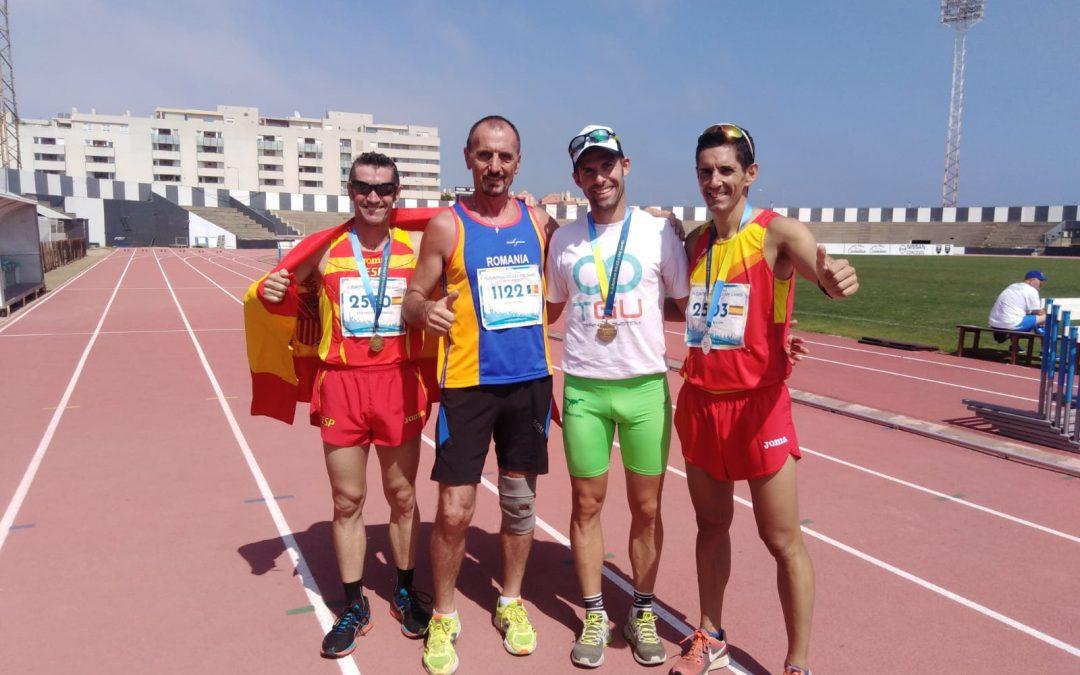 Reprezentantul Poliției Locale Sector 6, câștigător a patru noi titluri de campion european la atletism, în Gibraltar