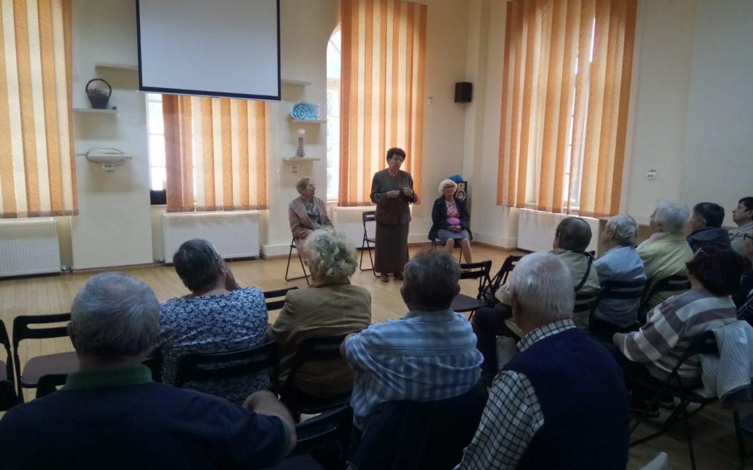 Seniorii, sărbătoriţi în Sectorul 6 de Ziua Internațională a Persoanelor Vârstnice