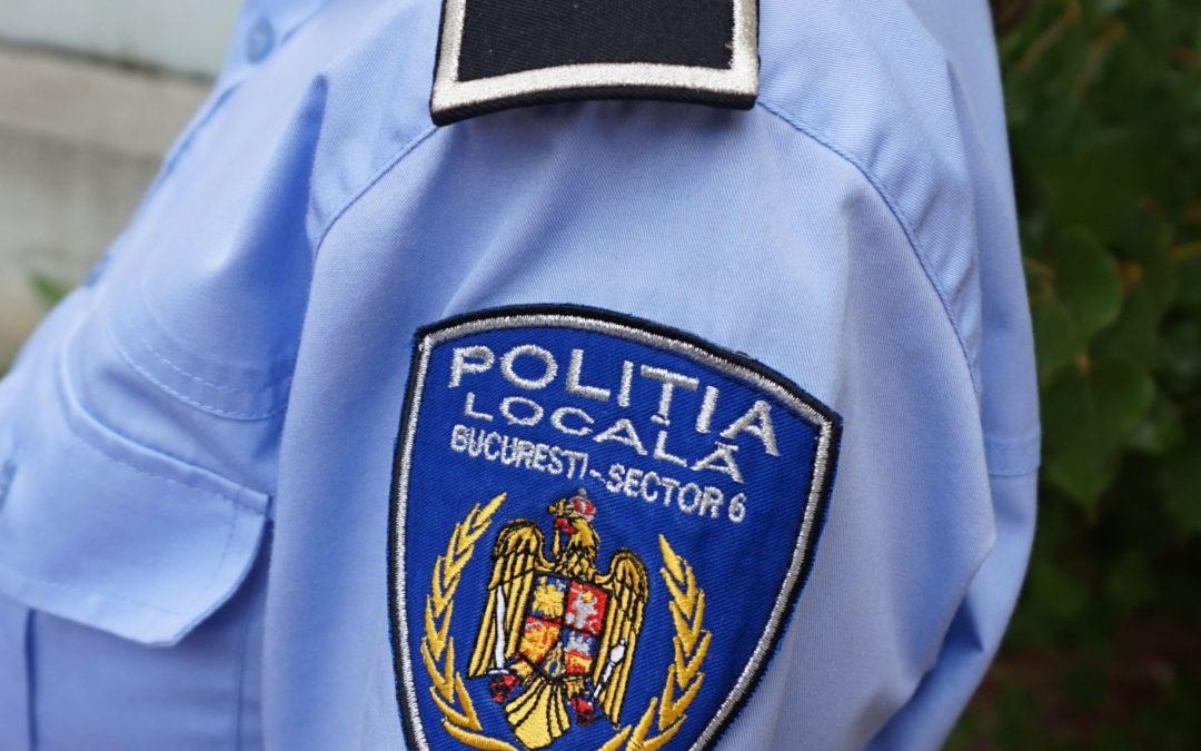 În octombrie, în Sectorul 6, 160.000 lei au fost încasați din sancțiuni aplicate de Poliția Locală