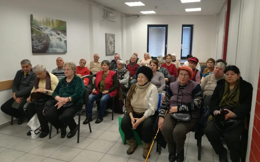 Mihai Eminescu, omagiat de seniorii din Sectorul 6