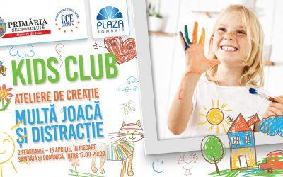 """""""Kids Club""""- invitație la distracție pentru prichindeii din Sectorul 6"""