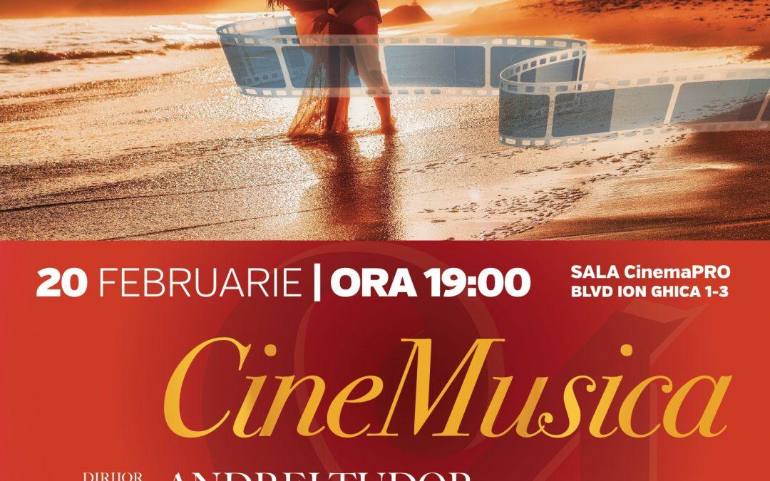 """""""CineMusica"""" – muzică de film în Stagiunea SalutCULTURA!"""