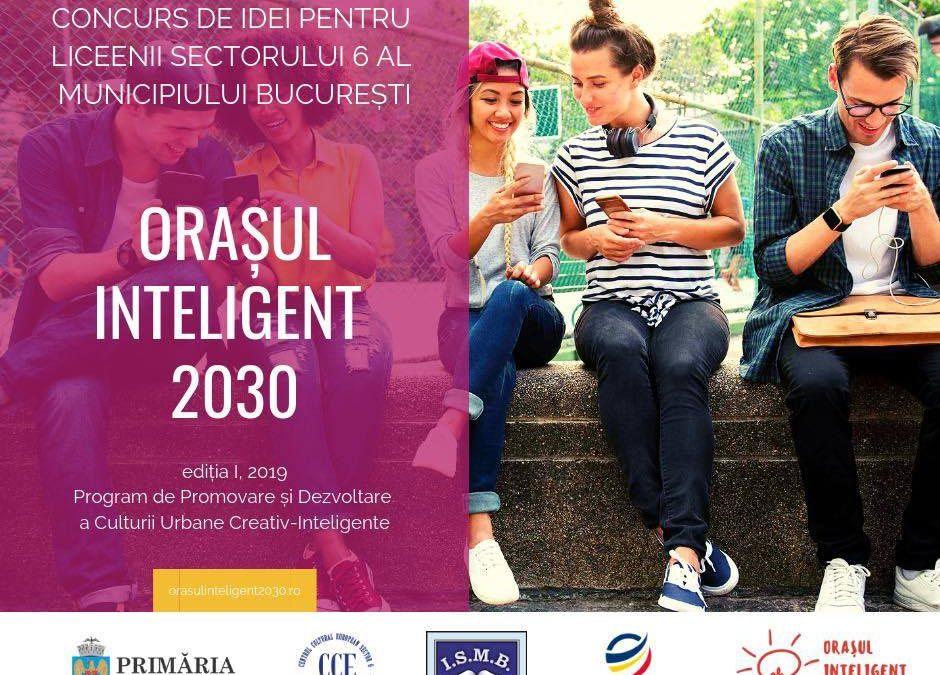 """Încep înscrierile în competiția """"Orașul inteligent 2030"""""""