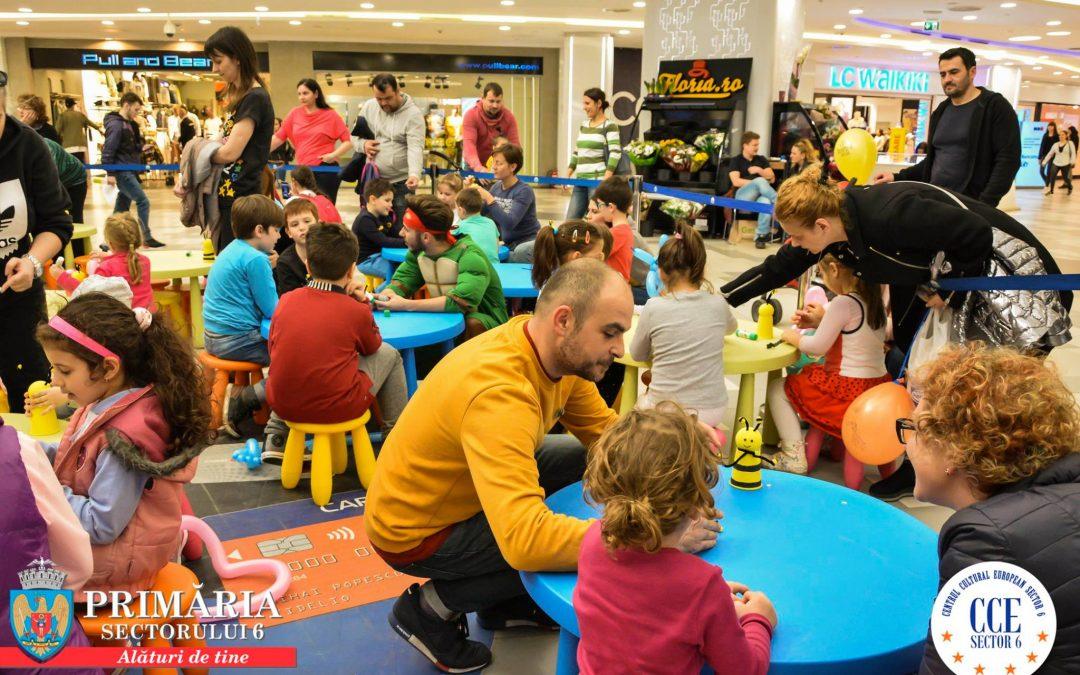 """Copiii sunt invitați și în acest sfârșit de săptămână să se distreze și să fie creativi, la """"Kids Club"""""""