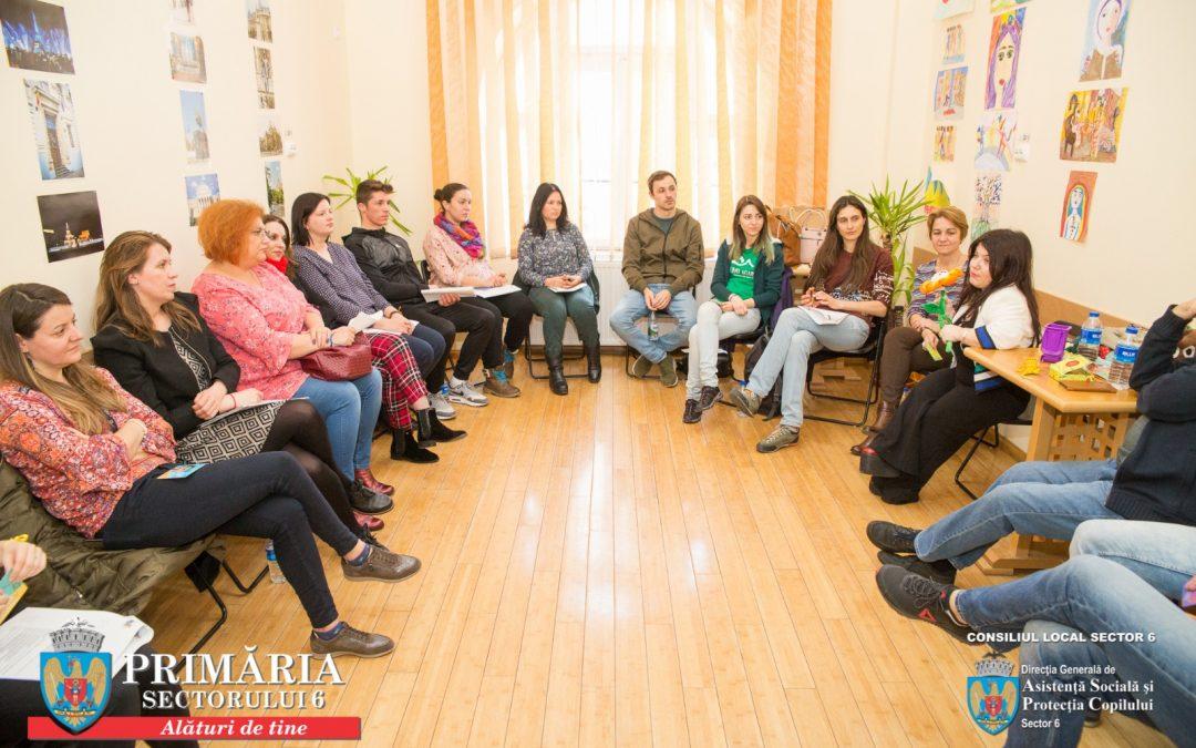 O întâlnire cu și pentru oameni – Ziua Internaţională a Asistenţei Sociale în Sectorul 6