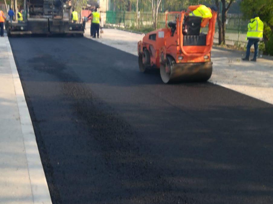A reînceput în forţă programul de reparaţii şi întreţinere a străzilor, parcărilor şi aleilor dintre blocurile Sectorului 6
