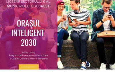 """Finala Competiției """"Orașul Inteligent 2030"""" are loc astăzi, în Sectorul 6"""