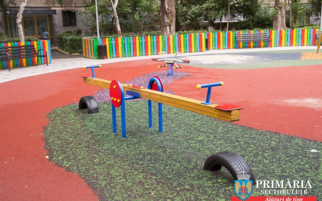 Toate locurile de joacă din Sectorul 6, modernizate la standarde europene