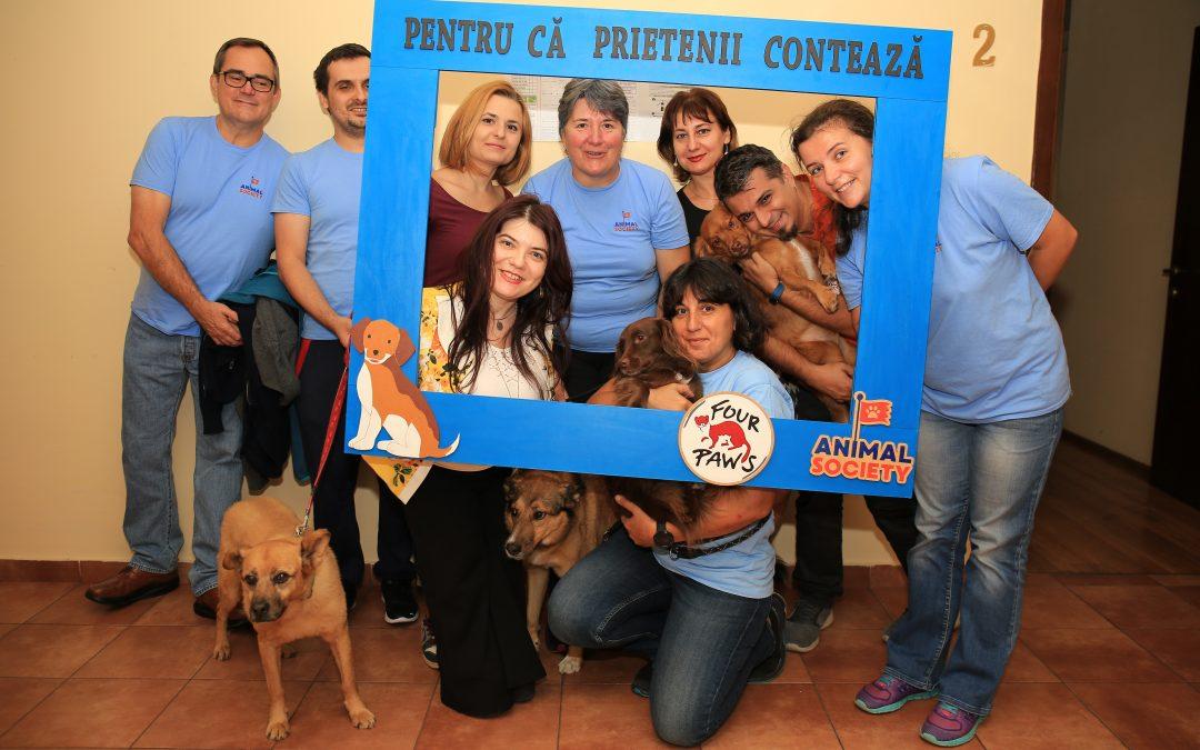 7 ani de terapie asistată de animale pentru bătrânii din Sectorul 6
