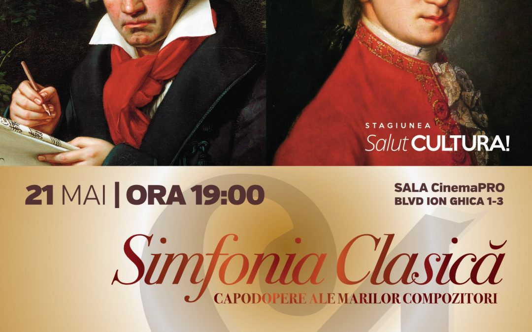 Stagiunea SalutCULTURA! continuă cu Mozart și Beethoven
