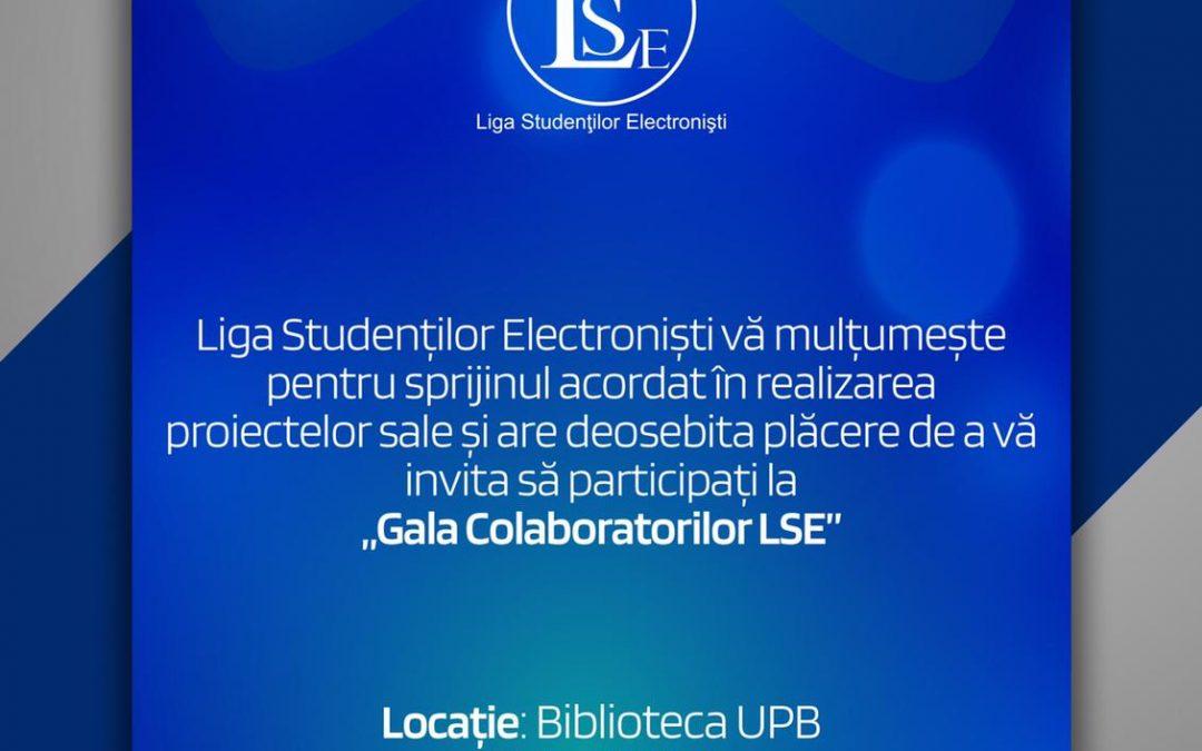 Retrospectiva evenimentelor Universității Politehnica din București la Gala Colaboratorilor Ligii Studenților Electroniști