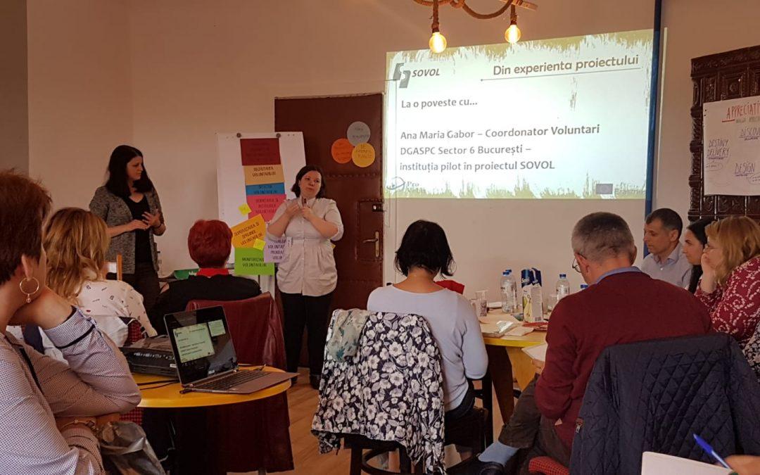 Sectorul 6 – un model de practică în domeniul voluntariatului, la nivel național