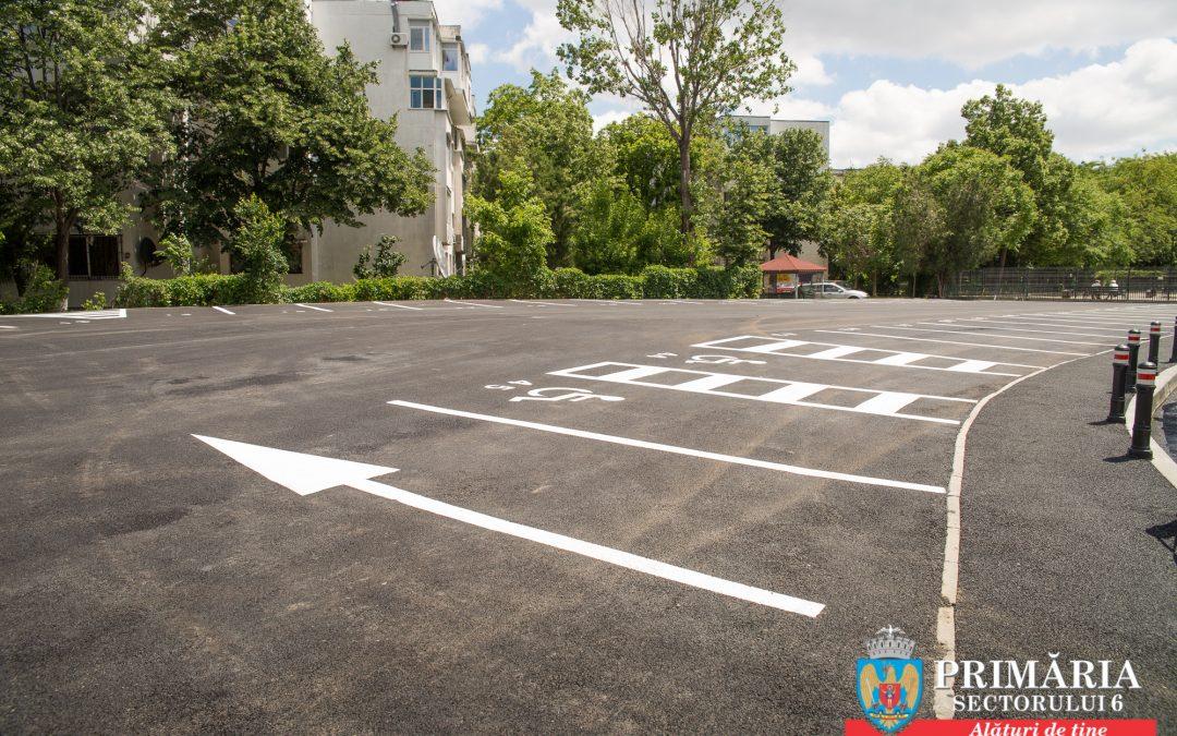 Trei noi parcări de reşedinţă, la dispoziţia locuitorilor Sectorului 6