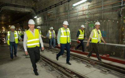 Vizită de lucru pe șantierul Metrorex a primarului Gabriel Mutu