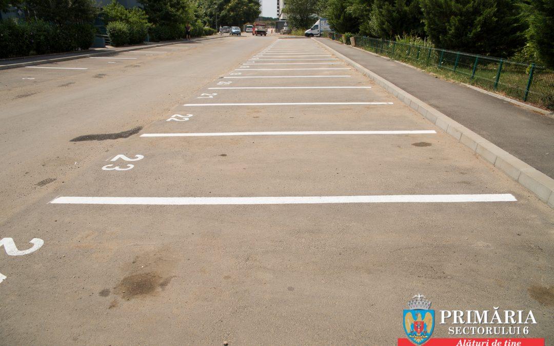 """Noi locuri de parcare de reşedinţă  în cartierul ANL """"Constantin Brâncuşi"""", din Sectorul 6"""