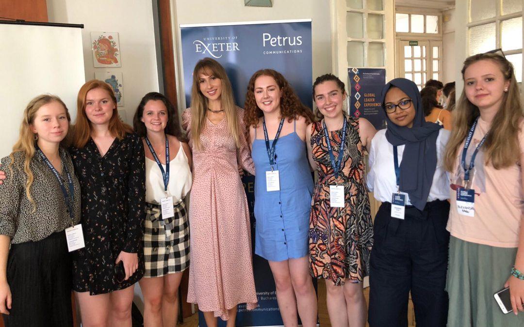 Studenţii din Anglia se implică în susţinerea comunităţii Giuleşti-Sârbi