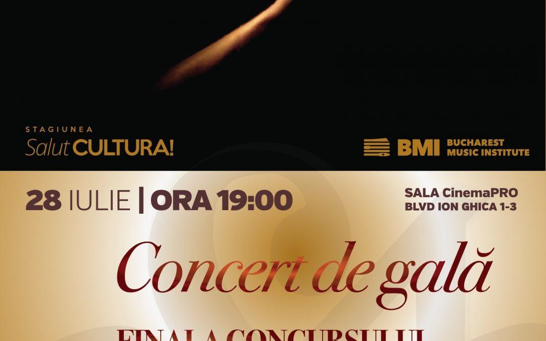 Concertul de gală – Finala Concursului Internațional de Dirijat, la a doua ediție