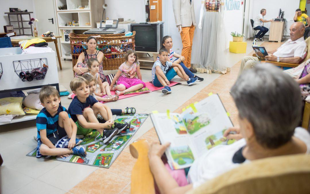 """""""Atelierul de poveşti"""" – o invitaţie pentru toţi copiii din Sectorul 6"""