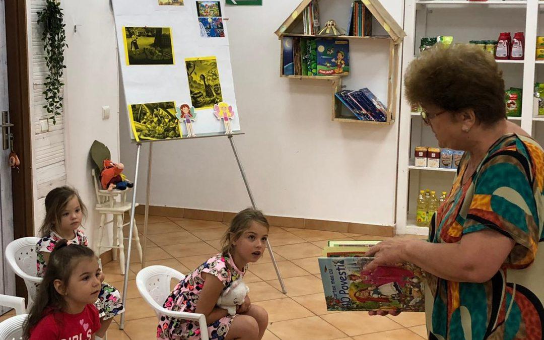 Ateliere de povești și întâlniri cu medici pentru copiii din Sectorul 6