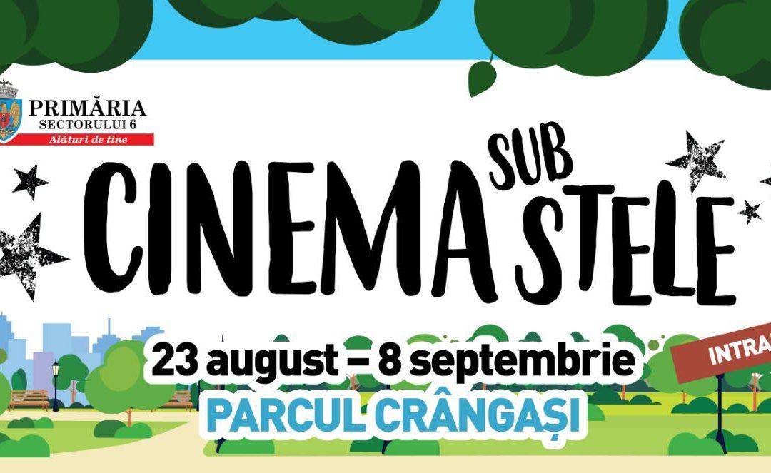 """""""Cinema sub stele"""" – proiecţii de film gratuite, în Parcul Crângaşi"""