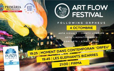 """Festivalul de artă """"Art Flow Festival – Following Orpheus"""""""