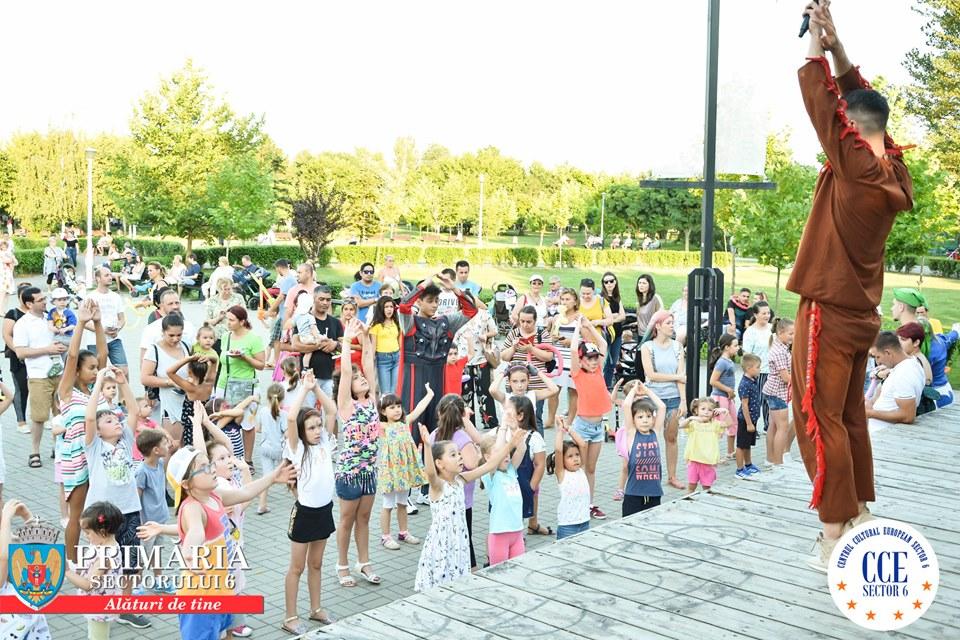 """""""Jocurile Vacanței"""" , penultimul weekend de distracție în parcurile din Sectorul 6"""