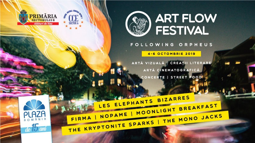 "Festivalul de artă ""Art Flow Festival – Following Orpheus"""