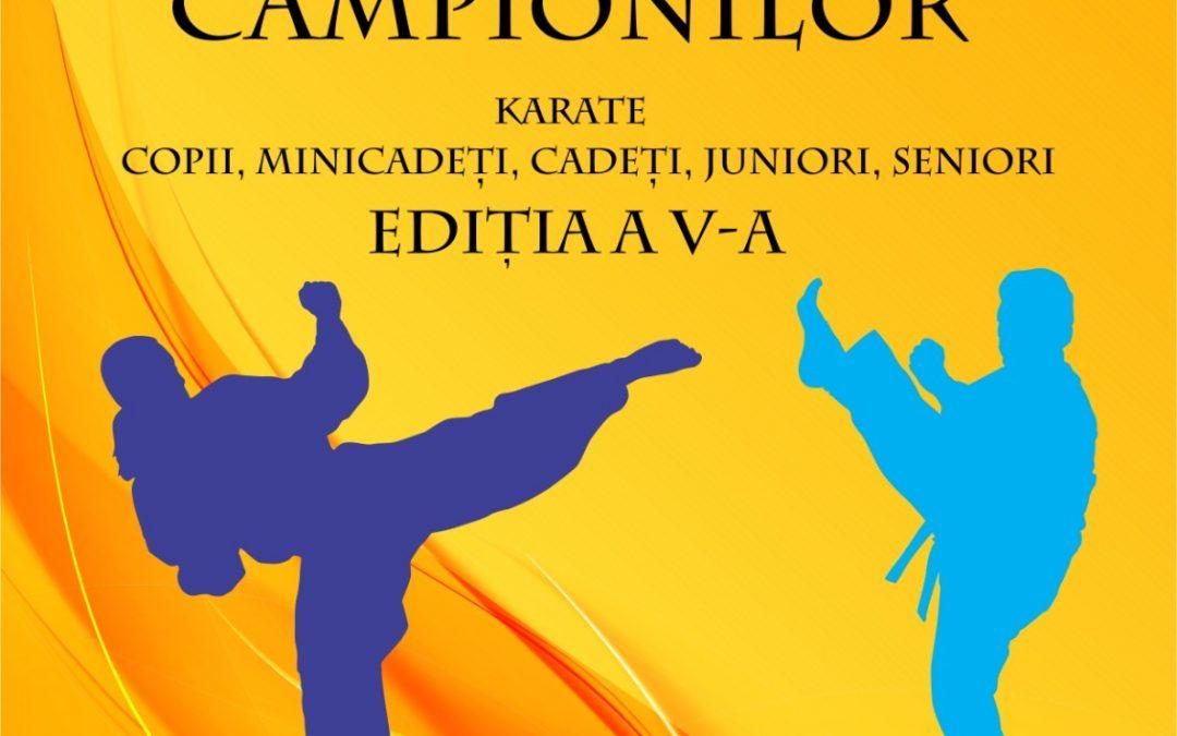 "Cupa ""Echipa Campionilor"" la karate, ediția a V-a"