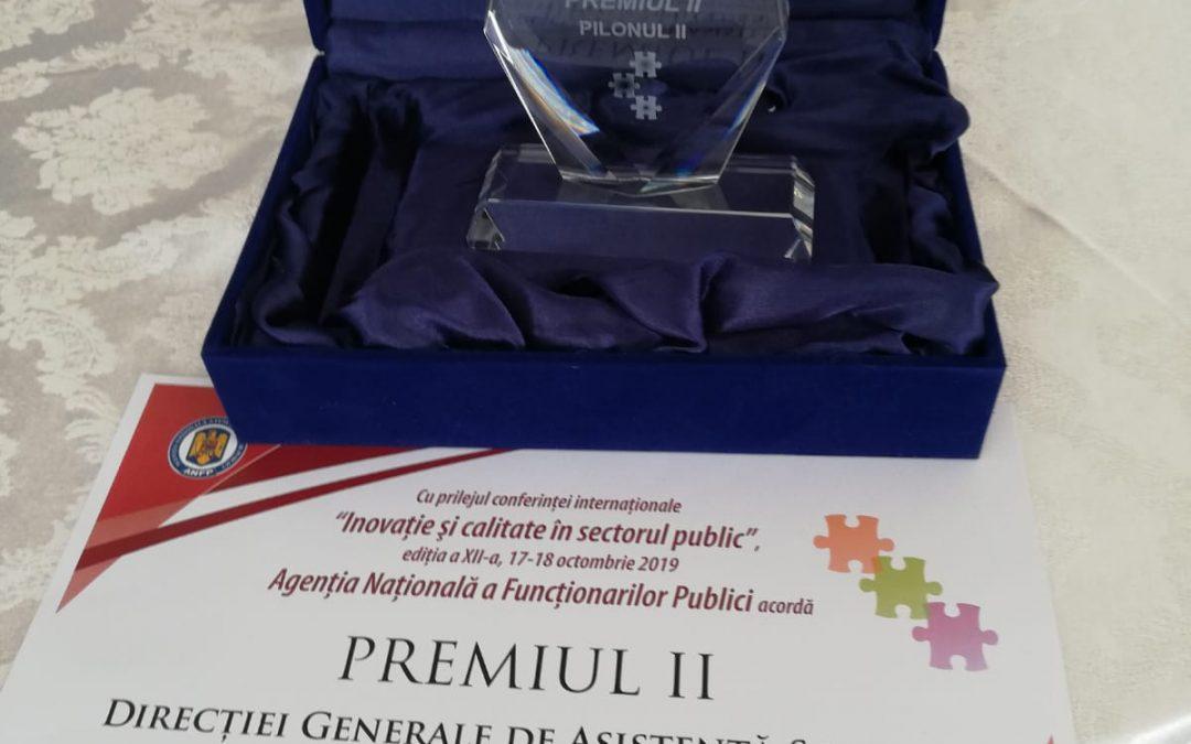 Un nou premiu de excelență pentru DGASPC Sector 6