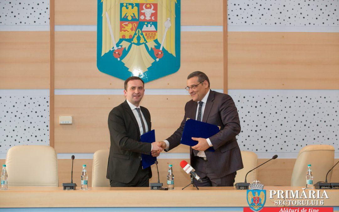 Sectorul 6 al Municipiului București parafează a doua înfrățire din istoria sa administrativă