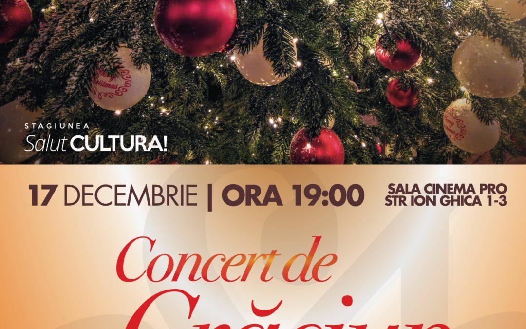 """""""Concertul Extraordinar de Crăciun"""" închide Stagiunea SalutCULTURA!"""""""