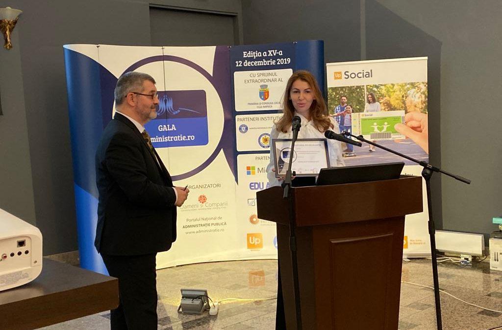 Premiu de excelență pentru DGASPC Sector 6