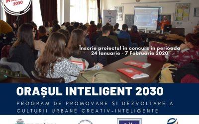 Competiția ORAȘUL INTELIGENT 2030, ediția a II-a