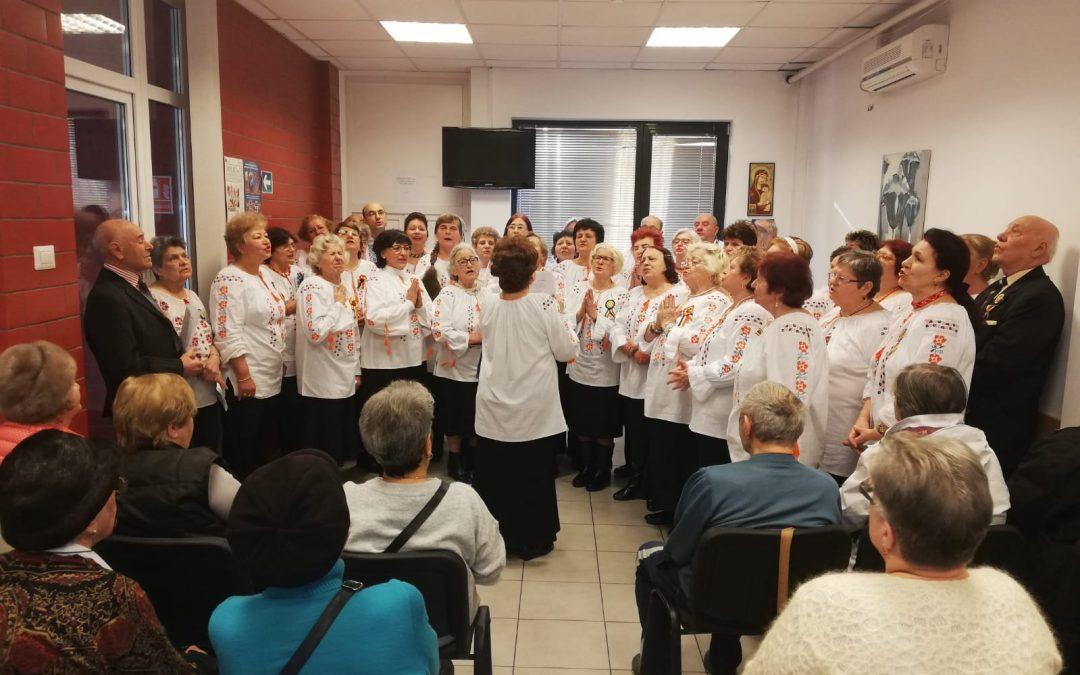 Seniorii din Sectorul 6 au omagiat 161 de ani de la Mica Unire