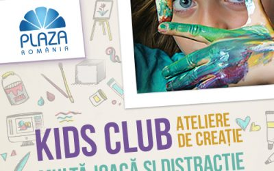 "De Mărțișor, un nou weekend distractiv ""Kids Club"""