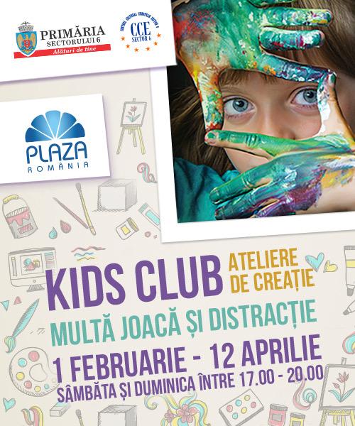 """Un nou weekend distractiv """"Kids Club"""" pentru copiii din Sectorul 6"""