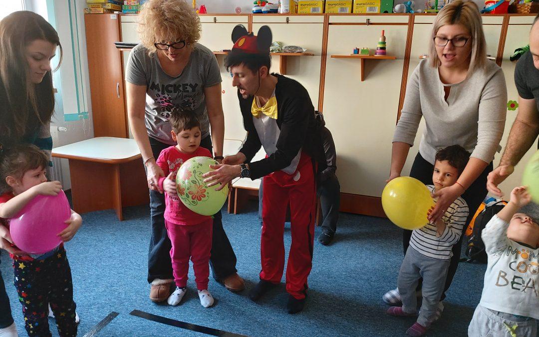 Petreceri aniversare pentru copiii cu dizabilități din Sectorul 6