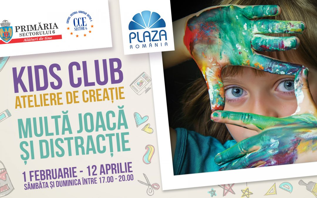 Vă așteptăm și în acest sfârșit de săptămână la teatru și la ateliere de creație pentru copii