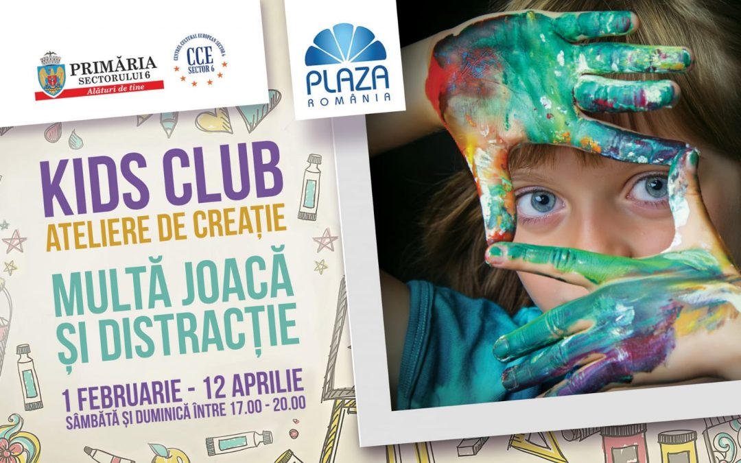 "Nou weekend de distracție  la ""Kids Club"" 2020"