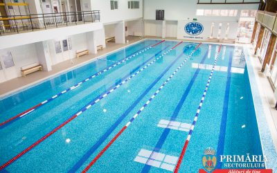 Gabriel Mutu a deschis astăzi bazinul de înot de la Școala 311